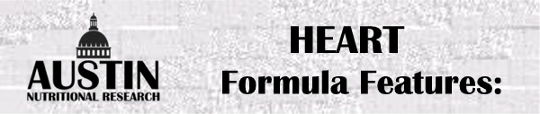 Formula Heart Nutritional Supplement Vitamin Packet Special Features